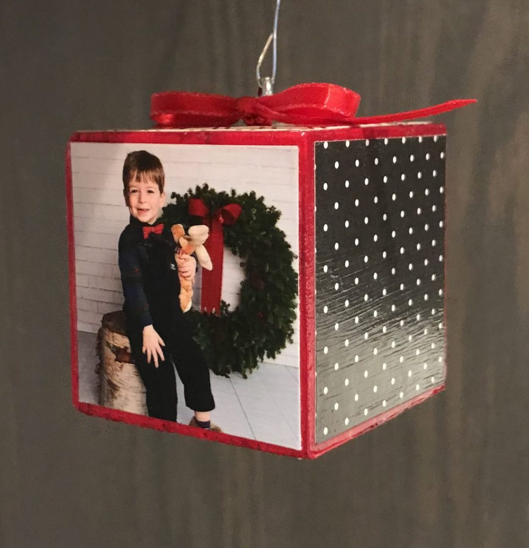 DIY Personalized Ornament