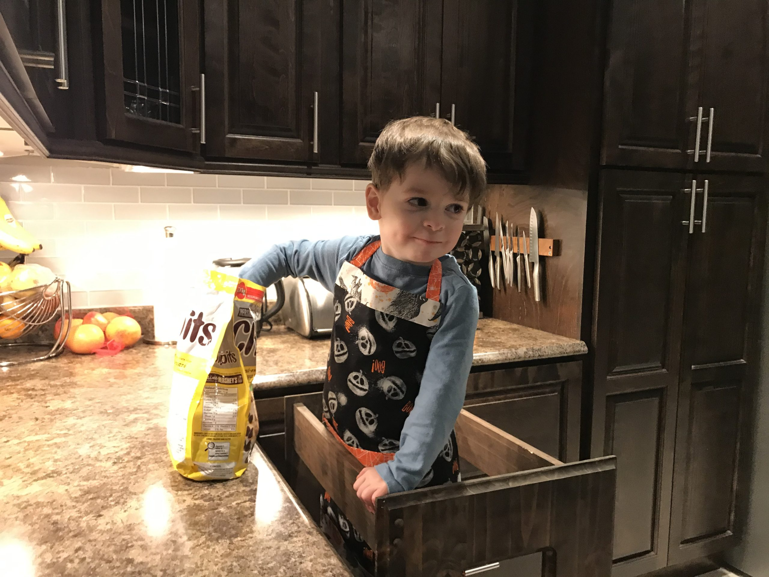 DIY Toddler Apron